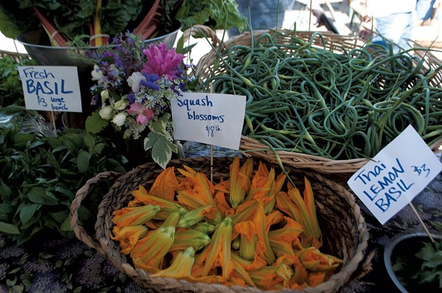 Produce from LePage Farm at a summer Capital City Farmers Market - FILE: HANNAH PALMER EGAN