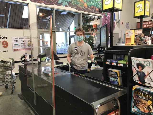Kris Nine at City Market - SALLY POLLAK