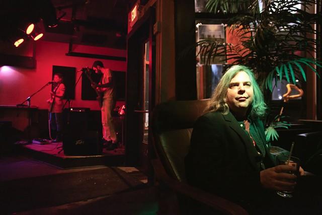 Tim Lewis with Vedora at the Monkey House - FILE: MATTHEW THORSEN