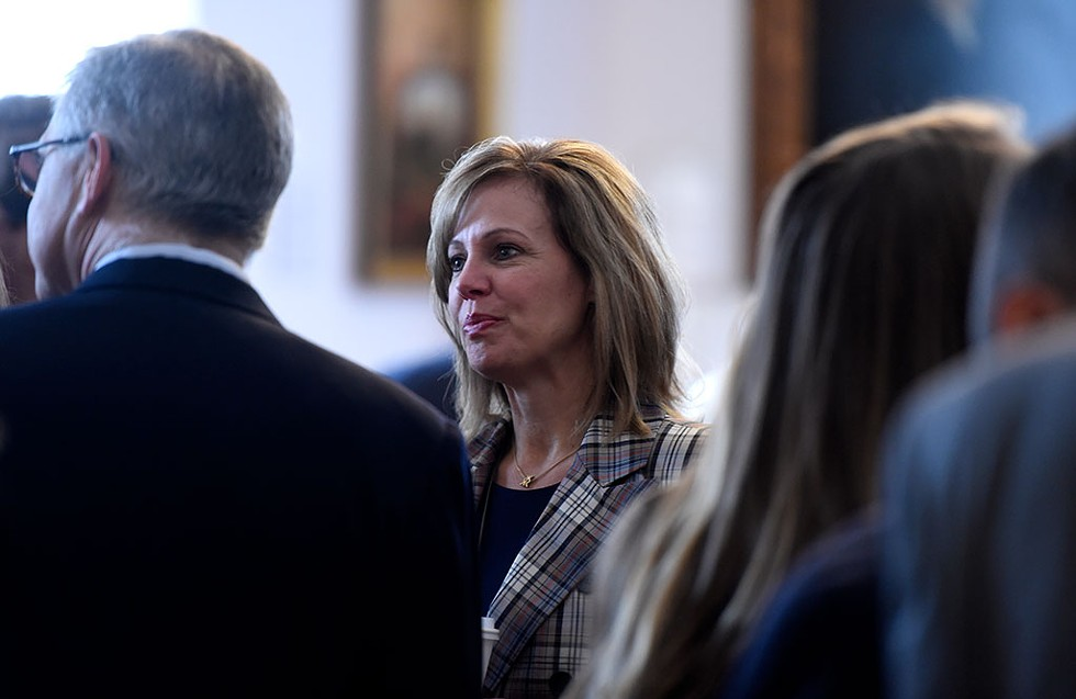 Commerce Secretary Lindsay Kurrle - JEB WALLACE-BRODEUR