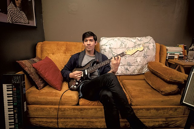Harrison Hsiang of the Couchsleepers - COURTESY OF LUKE AWTRY