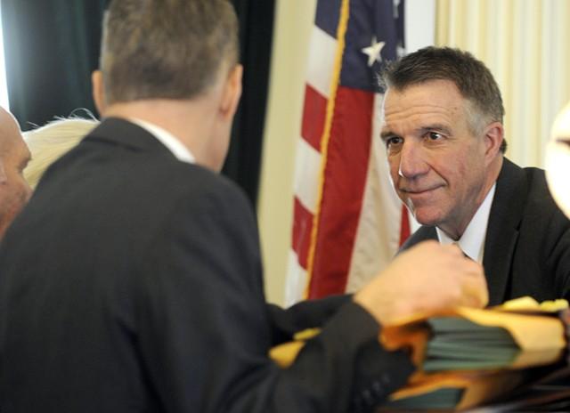 Lt. Govt. Phil Scott - FILE: JEB WALLACE-BRODEUR