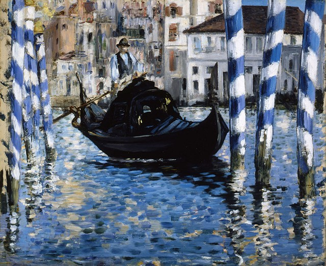 """""""The Grand Canal, Venice"""" by Edouard Manet - COURTESY OF THE SHELBURNE MUSEUM"""