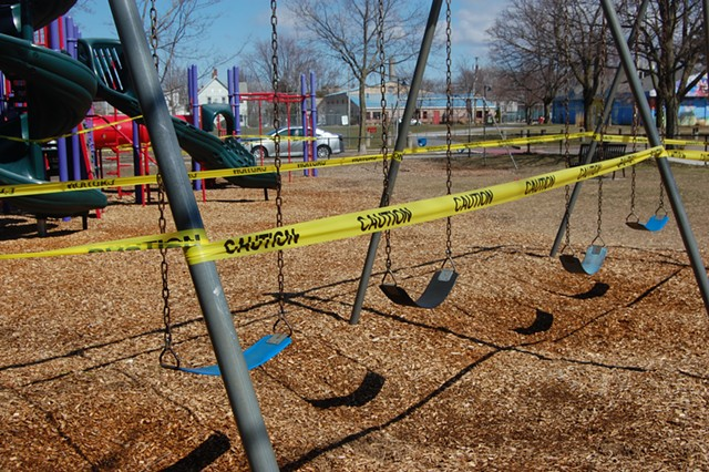 Roosevelt Park in the Old North End - FILE: MATTHEW ROY