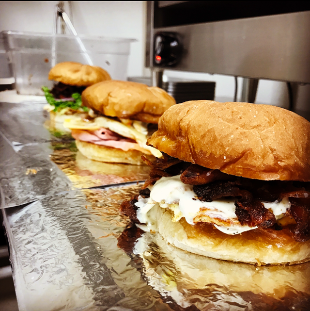 Some King's Corner Deli sandwiches - COURTESY OF KAT DONAHUE