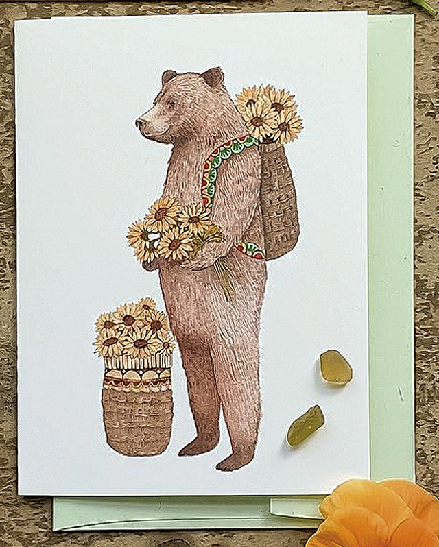 Flower Messengers  Small Card Pack - COURTESY OF JESS POLANSHEK