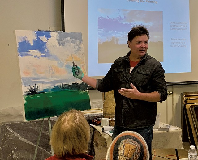 Painting With Craig Mooney