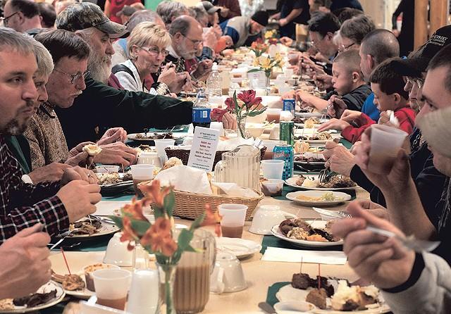Bradford's Wild Game Supper - HANNAH PALMER EGAN