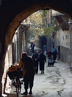 Archway in the Old City of Damascus - DEBORAH HARTE FELMETH
