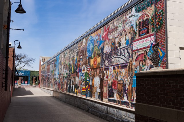 The mural - COLIN FLANDERS