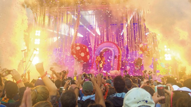 The Flaming Lips perform at Grand Point North in 2015 - FILE: JOHN JAMES