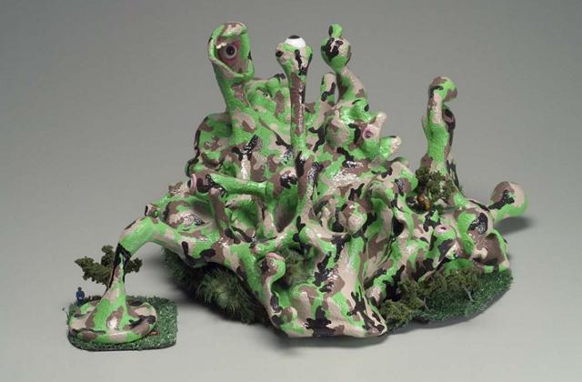 """Natural Rebellion,"" sculpture by Jennifer McCandless"