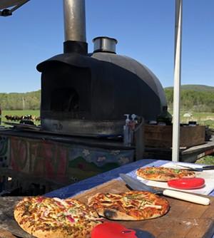 The NOFA-VT pizza oven - JORDAN BARRY