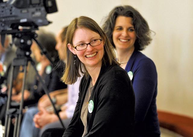 Gun Sense Vermont founder Ann Braden - FILE: JEB WALLACE-BRODEUR