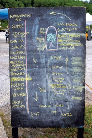 Capital City Farmers Market map - JEB WALLACE-BRODEUR