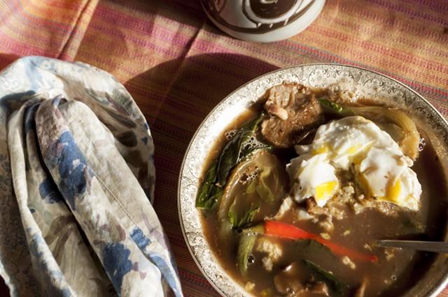 Simple soup for one - HANNAH PALMER EGAN