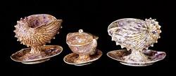 Wedgwood Company dishware, c. 1810-20 - COURTESY OF SHELBURNE MUSEUM
