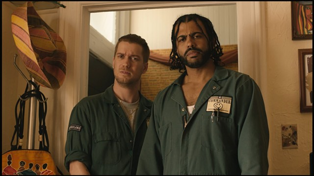 Rafael Casal and Daveed Diggs as childhood friends in Blindspotting - COURTESY OF LIONSGATE
