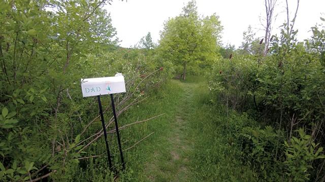 "The ""Dad mailbox"" in Geprags Community Park - JORDAN ADAMS"