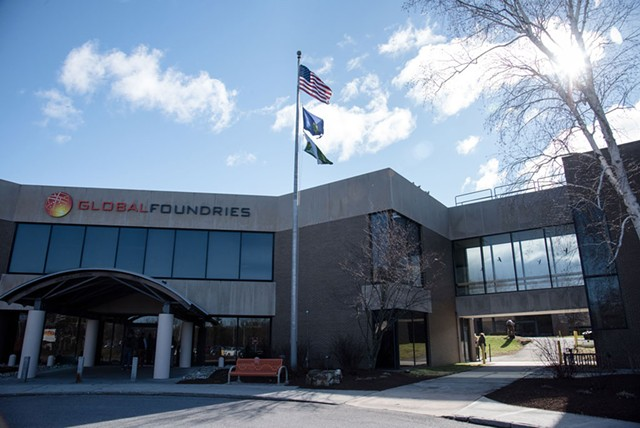GlobalFoundries in Essex Junction - COURTESY OF GLOBALFOUNDRIES