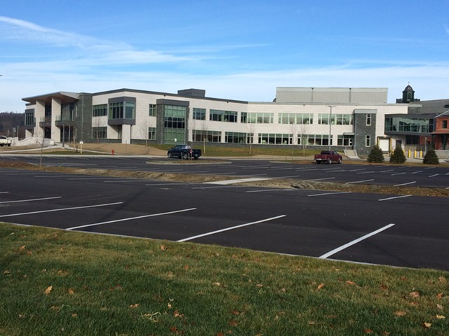The new state office complex in Waterbury - NANCY REMSEN