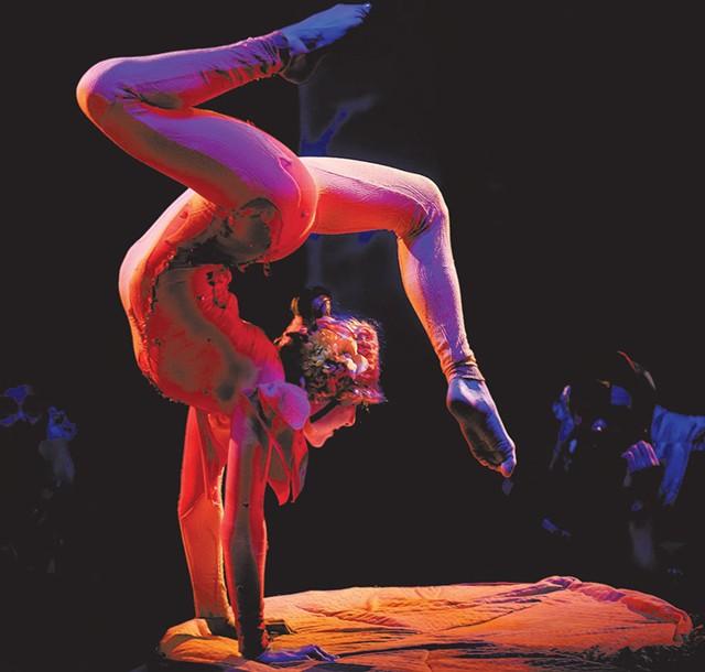 Circus Smirkus - COURTESY OF ROBERT SWANSON