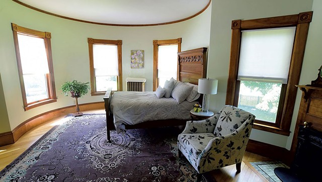 The Miranda room at the Reynolds House - FILE: JEB WALLACE-BRODEUR