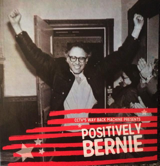 """Cover for """"Positively Bernie"""" DVD - MARK DAVIS"""