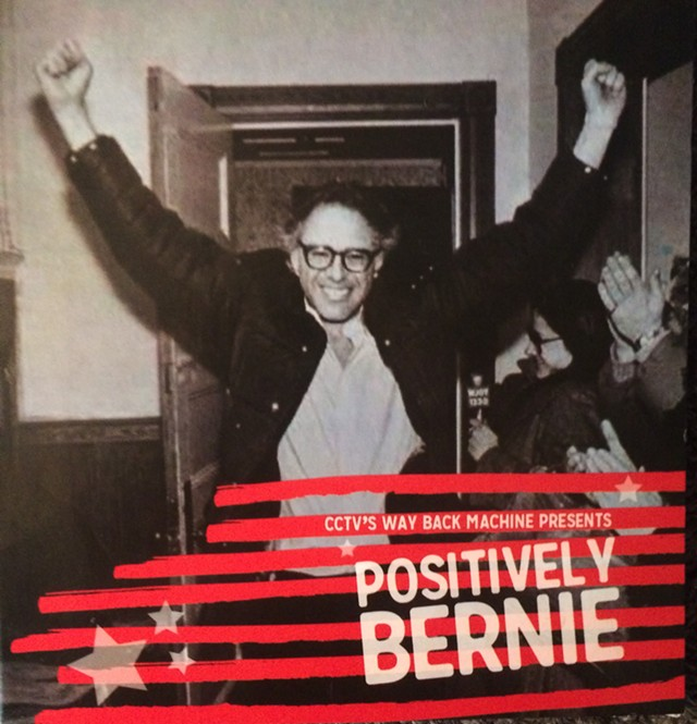 "Cover for ""Positively Bernie"" DVD - MARK DAVIS"