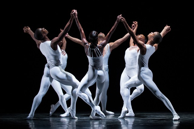 Dance Theatre of Harlem performing 'Dancing on the Front Porch of Heaven' - COURTESY OF DANCE THEATRE OF HARLEM