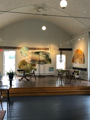 The Kraemer & Kin tasting room at GreenTARA Space - COURTESY OF KRAEMER & KIN