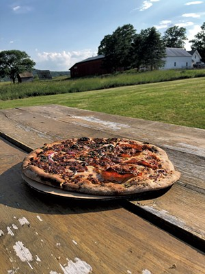 American Flatbread pizza - JORDAN BARRY