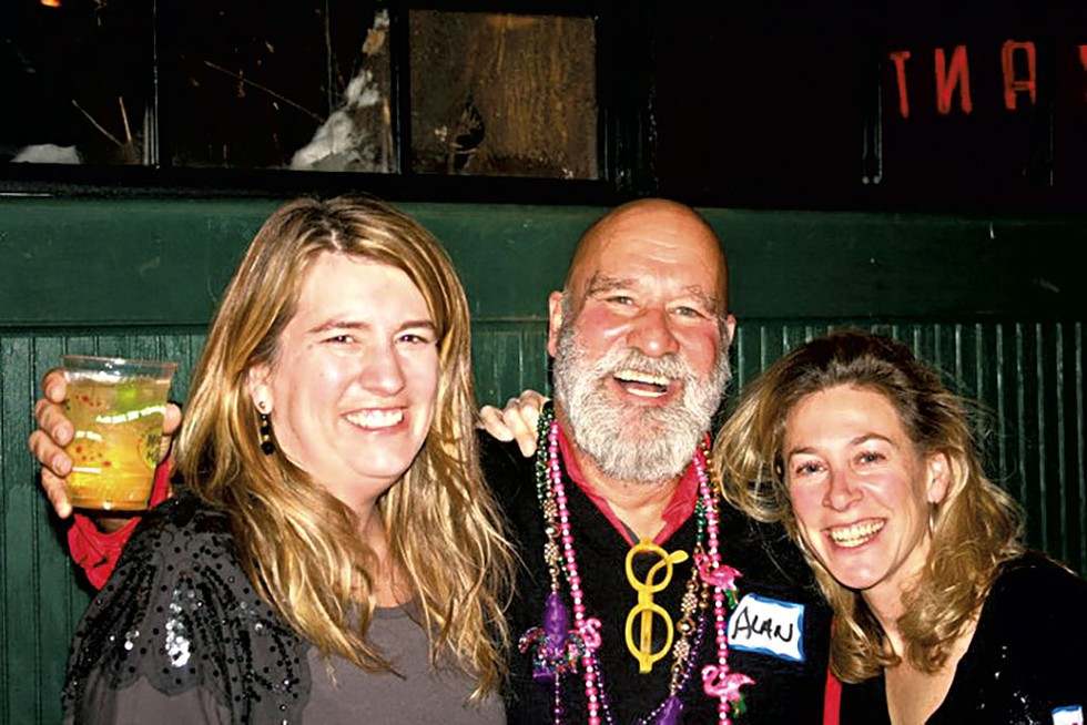 From left: Lisa Kelly, Alan Newman and Stacey Steinmetz - COURTESY