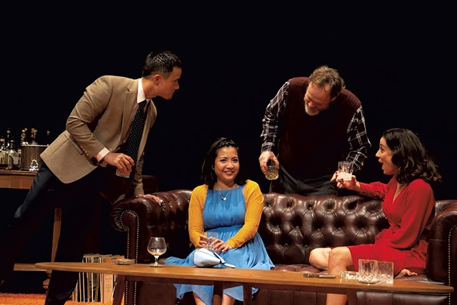'Who's Afraid of Virginia Woolf?' at the Weston Playhouse in 2019 - COURTESY OF ALEX PERRY