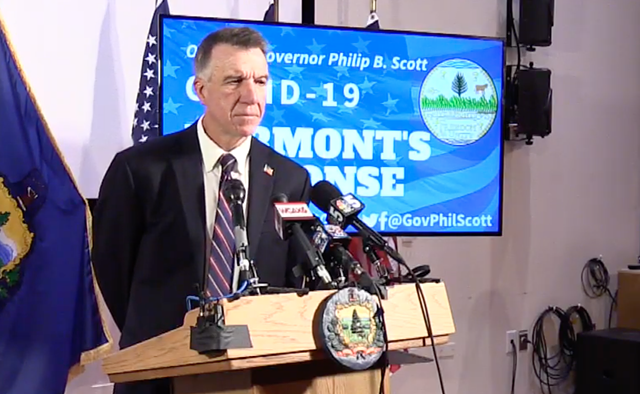 Gov. Phil Scott - SCREENSHOT