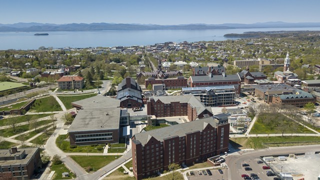 The University of Vermont campus - FILE: JAMES BUCK