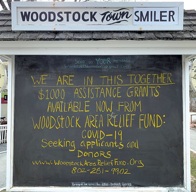 COURTESY OF THE WOODSTOCK AREA RELIEF FUND