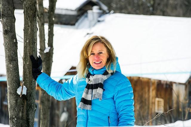 Tonewood Maple founder Dori Ross - COURTESY OF DENNIS CURRAN