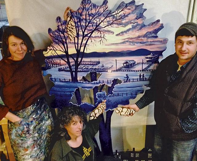 Tara Goreau (left), Terry Zigmund and Matt Gang - XIAN CHIANG-WAREN