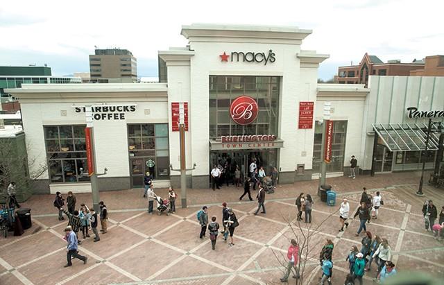 Burlington Town Center shopping mall - MATTHEW THORSEN