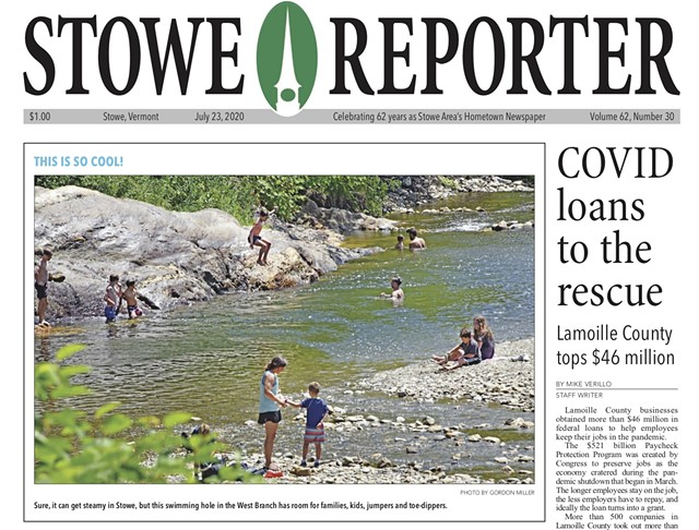 The Stowe Reporter - COURTESY