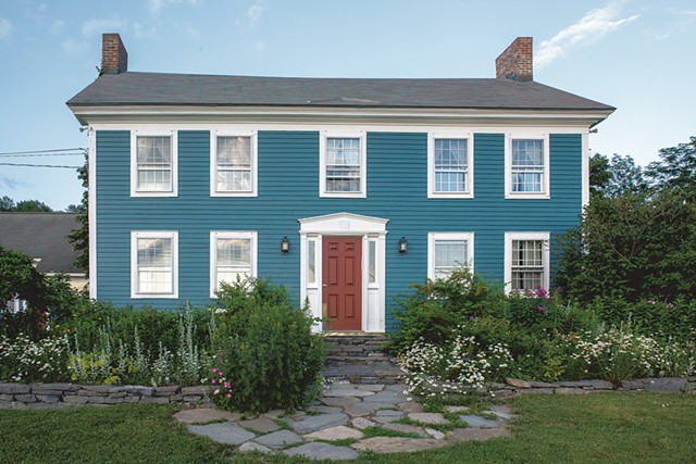 The exterior of Blueberry Hill Inn - CALEB KENNA