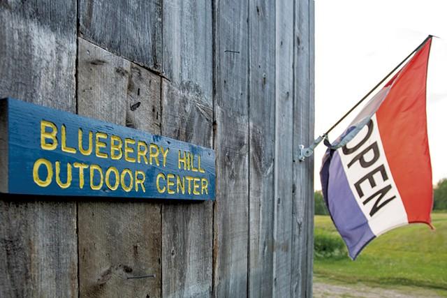 Blueberry Hill Outdoor Center - CALEB KENNA ©️ SEVEN DAYS
