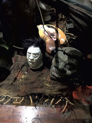 Heads at Main Street Museum - PAMELA POLSTON ©️ SEVEN DAYS