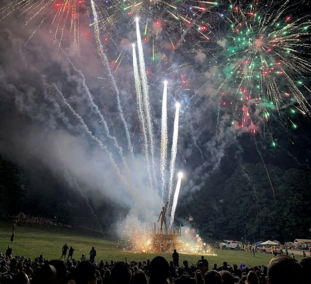 A 2019 Green Mountain Fireworks show - COURTESY OF GREEN MOUNTAIN FIREWORKS