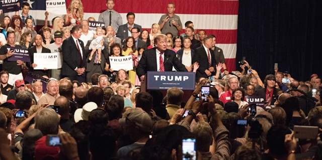 Donald Trump in Phoenix - DREAMSTIME