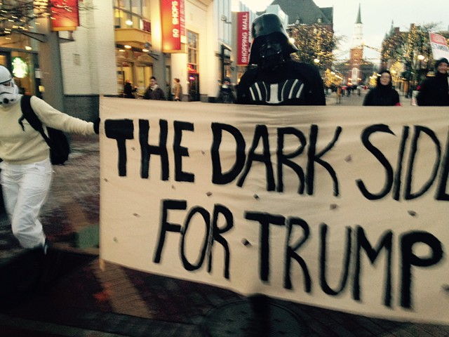 The Dark Side for Trump! - MOLLY WALSH