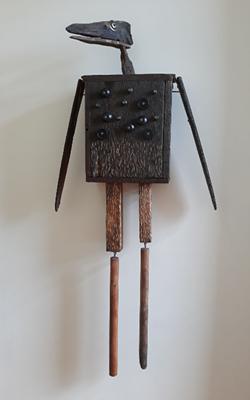 Sculpture by Janet Van Fleet - COURTESY OF THE ARTIST