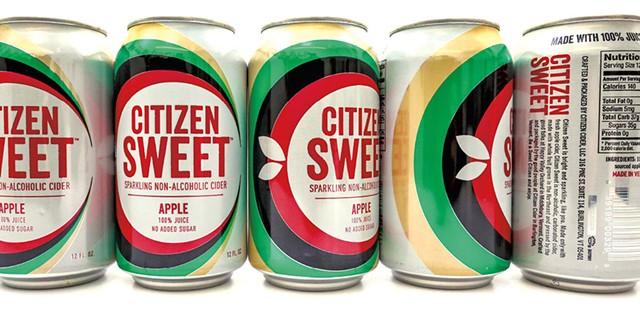 Citizen Sweet nonalcoholic sparkling cider - COURTESY OF CITIZEN CIDER