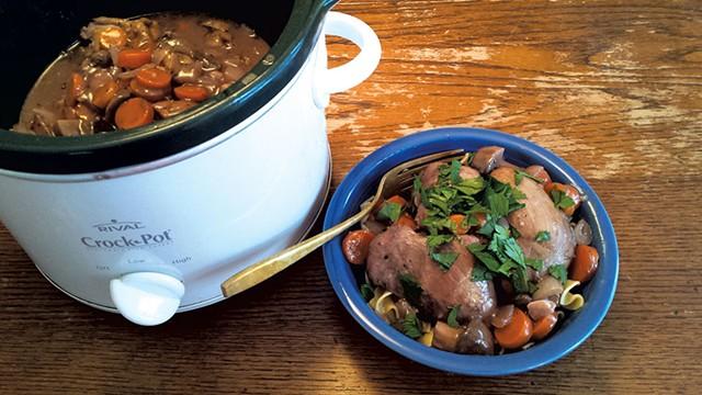 Crock-Pot Coq au Vin - MELISSA HASKIN